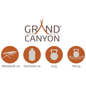 Grand Canyon Alu Camping Bed Ekstravahva M, olive
